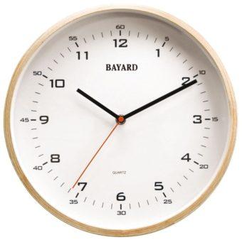 horloge bois bayard - contemporain